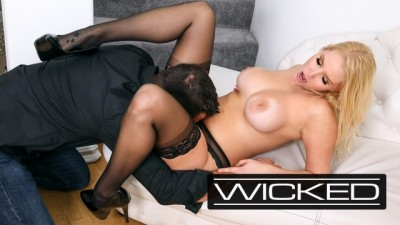Hot Blonde Vanessa Cage Rides Huge Cock