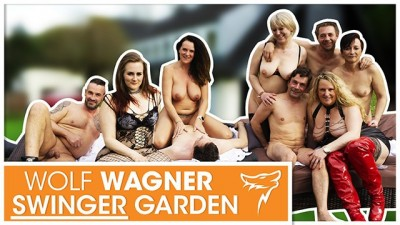 Extended Family Threw A Big Orgy In The Garden