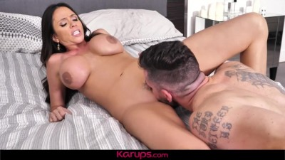 Hot Brunette Cougar Wet and Waiting for Huge Cock