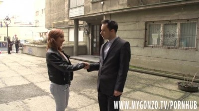 Redhead MILF Girl Gets Tricked into Sensual Anal Sex by the Fake Estate Agent