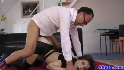 Hot Amateur Classy Beauty Pussyfucked by Horny old Man