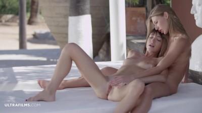 Sexy Angelica Seduces Krystal Boyd for Lesbian Sex