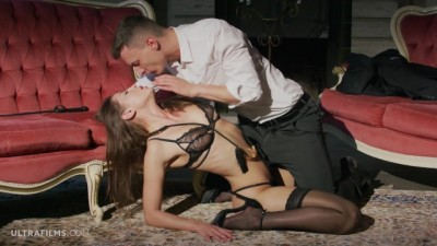 Curvy Hottie Pornstar Sybil is Dominated by her Lover. Takes Huge Cock!