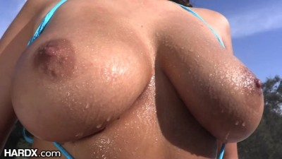 HardX - Beautiful Awesome Anal Sex With Natural Tits Latina