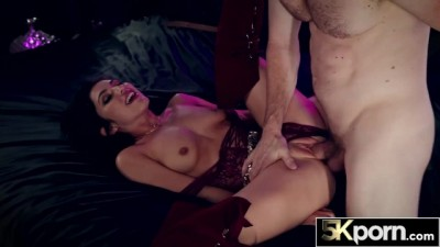 5KPorn - Brunette Hot Bitch Gianna Gem Gets Huge Cock then Multiple Creampies!!