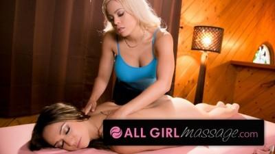 AllGirlMassage MILF Luna Star Seducing Sara Luvv