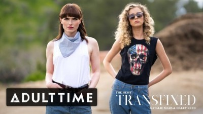 ADULT TIME - Lesbian Girls Look So Mad