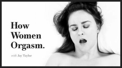 ADULT TIME - How Women Orgasm - Jay Taylor Masturbates