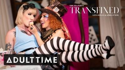 ADULT TIME - Lena Kelly & April O'Neil Tea Party