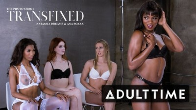 ADULT TIME - Transfixed: Ana & Natassia have Hot Sex after Lingerie Photoshoot