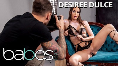 Babes - Thicc Desiree Dulce Works her Curves for Impatient Photographer Quinton James