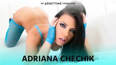 ADULT TIME - Busty Adriana Chechik Lesbian Squirting Fisting