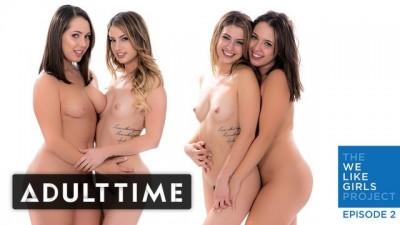 ADULT TIME - Kristen Scott & Jenna Sativa -real, Passionate Lesbian Sex