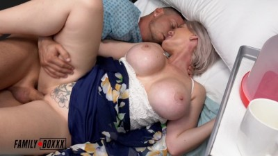 Hot MILF Casca Fucks her Son's Bestfriend - Amateur Boxxx