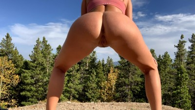Hot Teen Flashing, Squirting and Pissing in the Great Outdoors