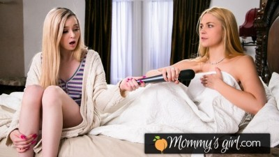 MommysGirl Young Lexi Lore's Testing Stepmommy's Vibrator