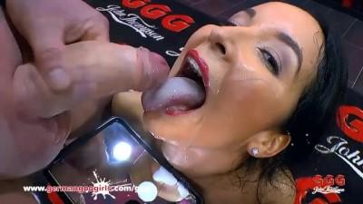Busty Hottie Francy Belle Fucked by Big Dicks - German Goo Girls