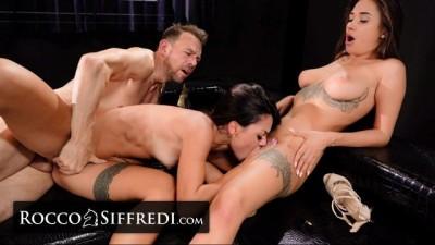 RoccoSiffredi Liya Silver & Martina Smeraldi Share Huge Cock!