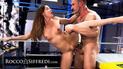 RoccoSiffredi Curvy Girl Sybil Takes Trainer's Big Cock