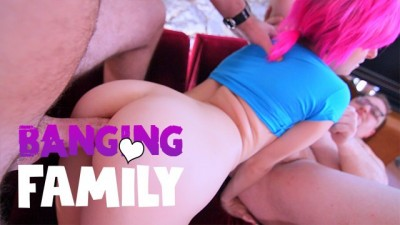 Banging Family - first Time Anal with my Step Godfather