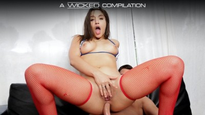 Wicked - Busty Abella Damger Hard Anal Sex Compilation