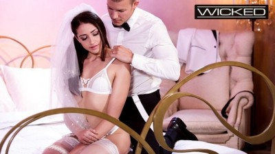 Wicked - Babe Bride Avi Love Fucked in Wedding Dress