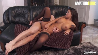 AmateurEuro - Super Hot Babe Susi Gala Squirts Riding a French Cock