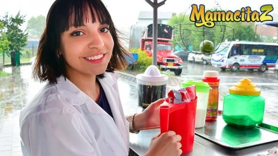 MamacitaZ - Cute Girl Has Hot Sex Behind The Bench
