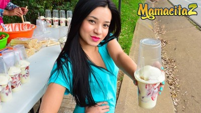 MamacitaZ - Sexy Street Vendor Desires Sex