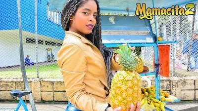MamacitaZ - Kinky Ebony Latina Picked up to Ride Big Cock