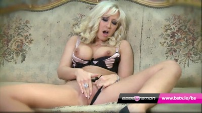 Babestation Blonde MILF Karlie Simon Finger Fucks herself