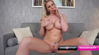 Leggy Blonde MILF Dani Maye Gets Naked