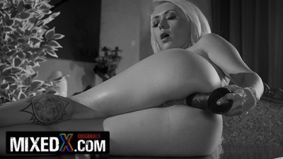 Mıxed X - Blonde Mature Anal Sex Expert