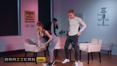 PAWG ginger Ella Hughes get dominated by Horny big dick