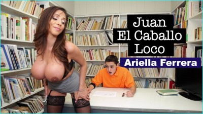 Horny MILF Teacher Ariella Ferrera Helps Young Juan El Caballo Loco