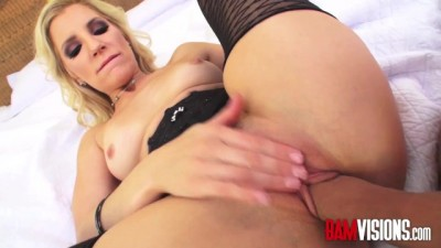 Horny Blonde Mature Ashley Fires
