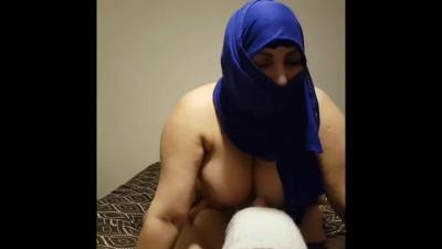 Arab Muslim Mature Lets Stepson Suck her Big Tits