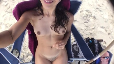 Nudist Beach for the Firts Time