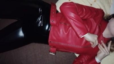Leather Girl Amateur