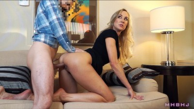 Horny Blonde Epic MILF caught cheating; Fucks to keep scumbag quiet