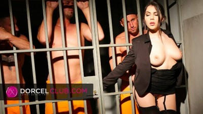 Valentina Nappi the Sexy Jail Director Big Tits