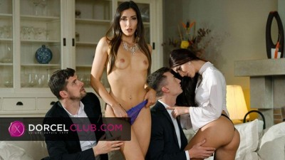 Indecent Foursome with Cléa Gaultier and Katy Rose