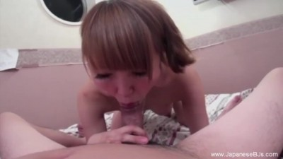 Cumshot for Sexy Japanese Amateur