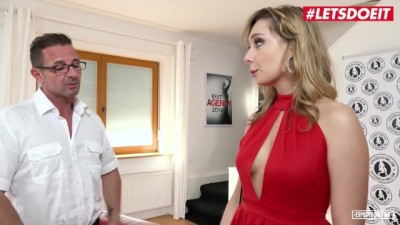 Sexy Blonde Thot Fucked Hard At Her Porn Casting