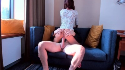 Teen slut ride on my huge cock