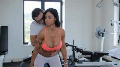 Big Tits  MILF Jewels Jade rides hard cock