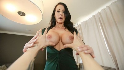 Big Tits Stepmom Lets Me Grab Her New Tits
