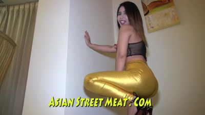 Clean Firm Round Thai Teacher Amateur Asian