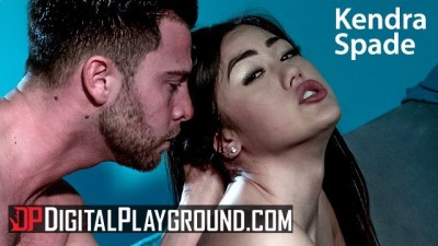 Asain babe Kendra Spade Squirts and orgasm on big cock