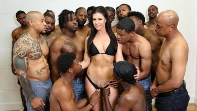 Sexy Dr. India Summer Conducts Her Largest Group Therapy